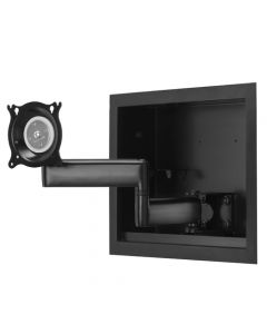"""Small Flat Panel In-Wall Swing Arm Mount - 13"""""""