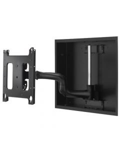 """Large Low-Profile In-Wall Swing Arm Mount - 22"""""""